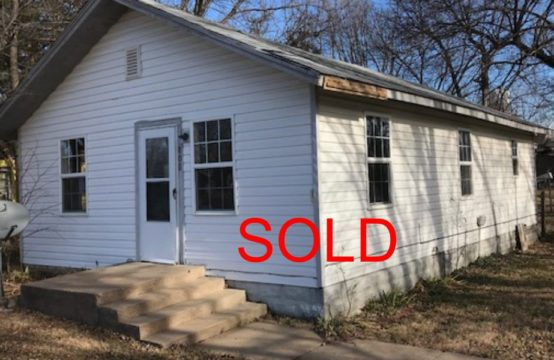 808 N Olive Leon Ks, City Owned Real Estate Liquidation