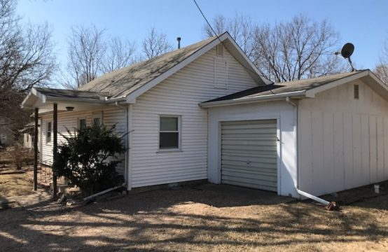 Court Ordered Absolute Auction 209 N Munson, Potwin Ks
