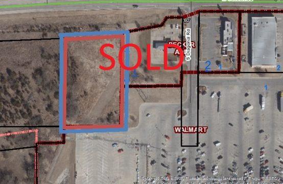 1.7 Acre Commercial Lot &#8211&#x3B; Walmart and 254 Highway Frontage -2845 W Central, Eldorado Ks