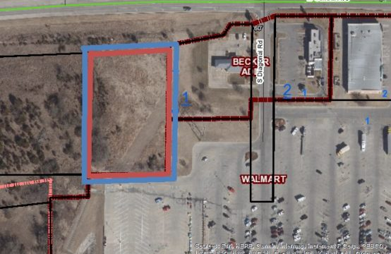 1.7 Acre Commercial Lot &#8211&#x3B; Walmart and 254 Highway Frontage -2845 W Central, Eldorado Ks