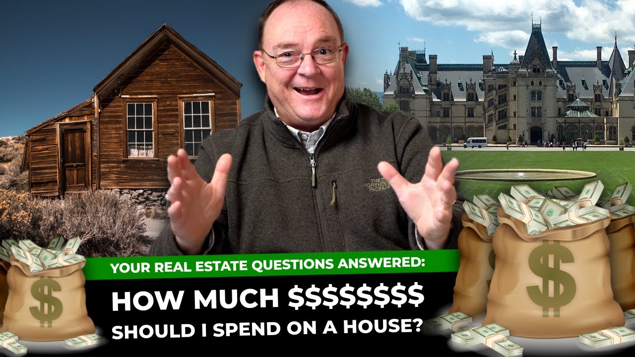 how much should i spend on a house